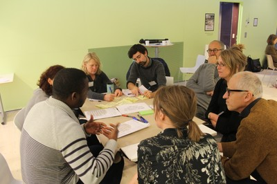 World Café discussions. Photo: Maria Ölund