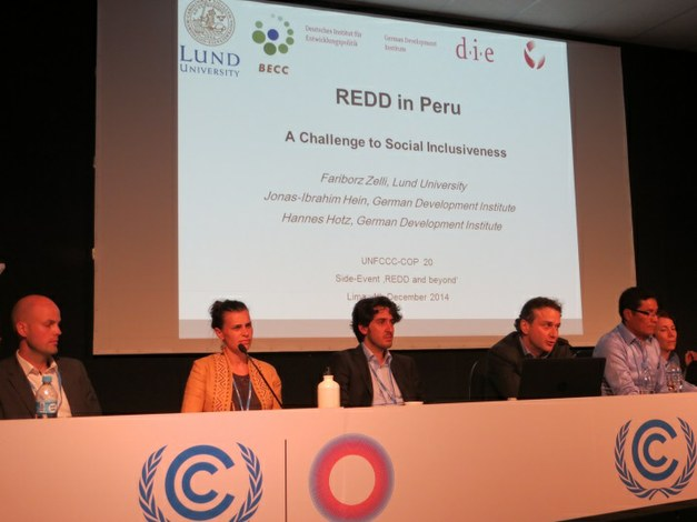 Side-event with Focali Researchers at the United Nations Climate Conference
