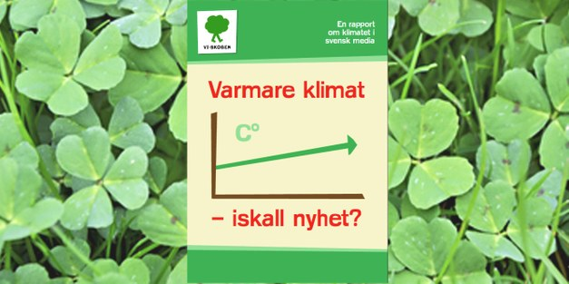 How Swedish media report on climate change?