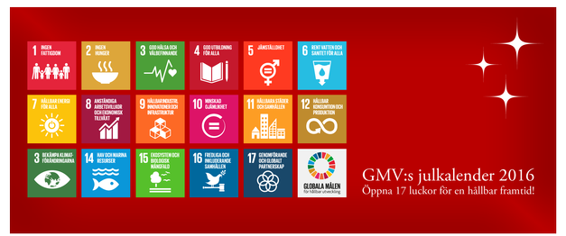 Focali in GMV's Christmas Calendar on the Sustainable Develoment Goals